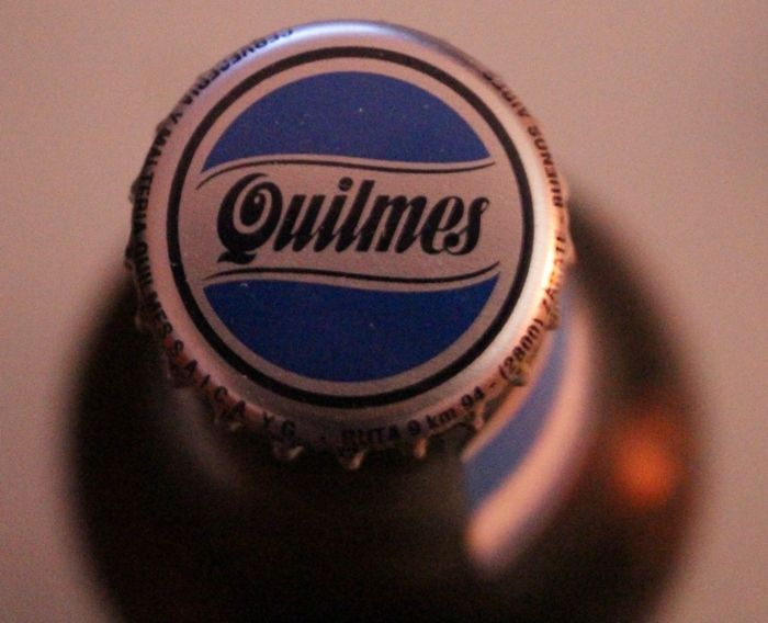 Quilmes, beer imported from Argentina