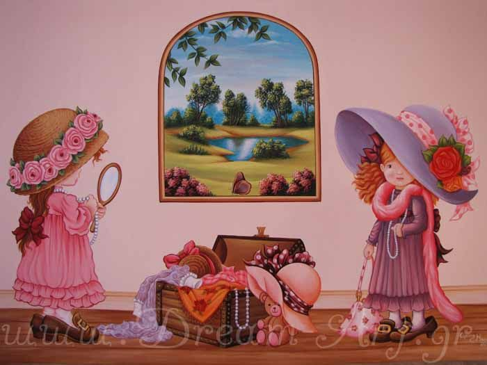 Ζωγραφική σε καμβά Sarah Kay