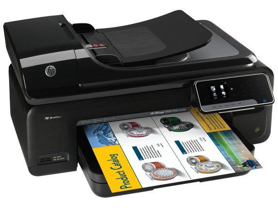 May In Hp Officejet 7500A Wide Format E All In One Printer , Máy in HP Officejet 7500A Wide Format e All in One Printer
