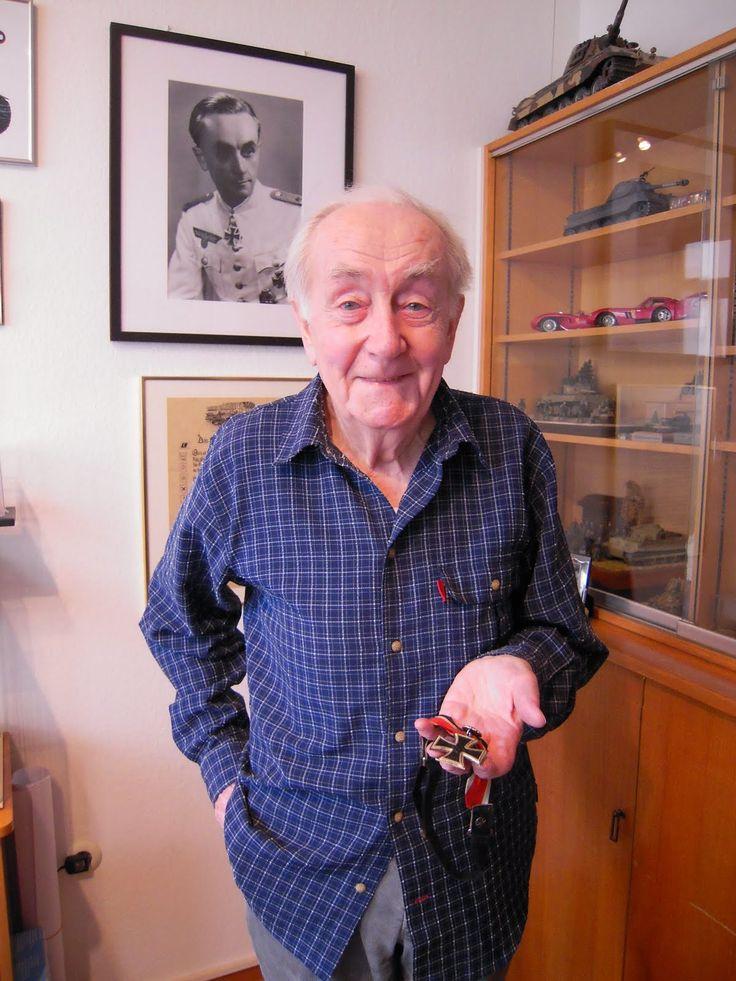 Otto Carius turnes 92 today! Happy Birthday!