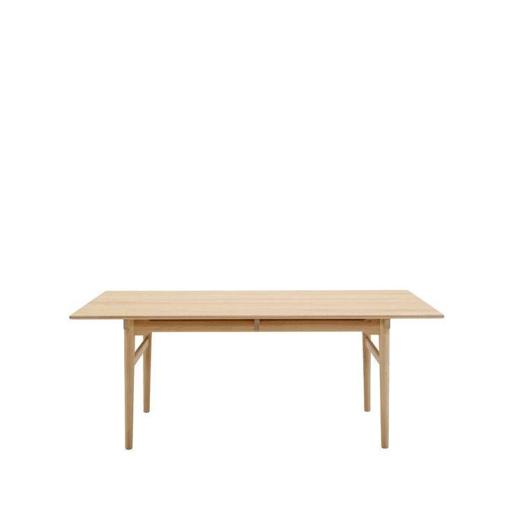 CH327 matbord - CH327 matbord - tvålbehandlad ek, 190 cm