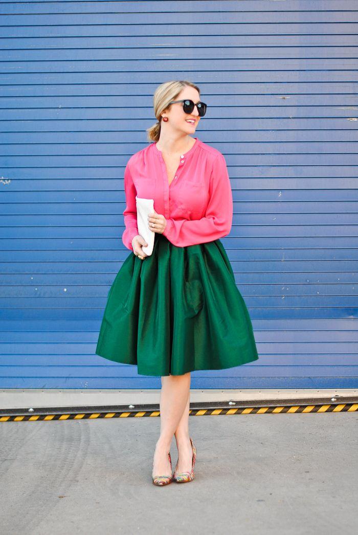 Pink & Green...