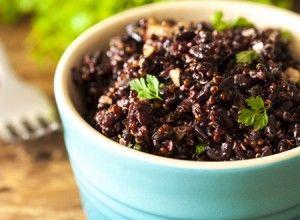 Receita Dedo de Moça: Salada de quinoa com arroz negro e chipottle