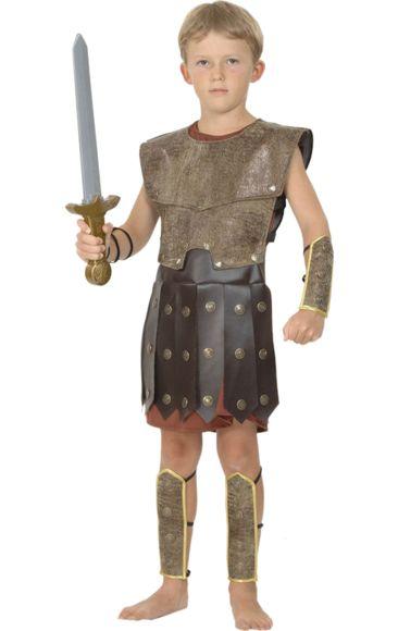 Child Warrior Boy Costume