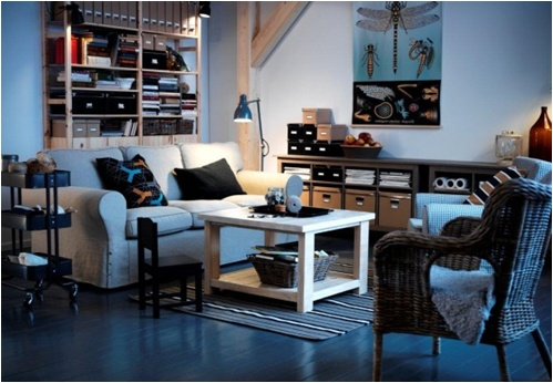 IKEA Oturma Odası: Rahatlatıcı bir ortam için, rahat tasarımlı ürünler IKEA'da!