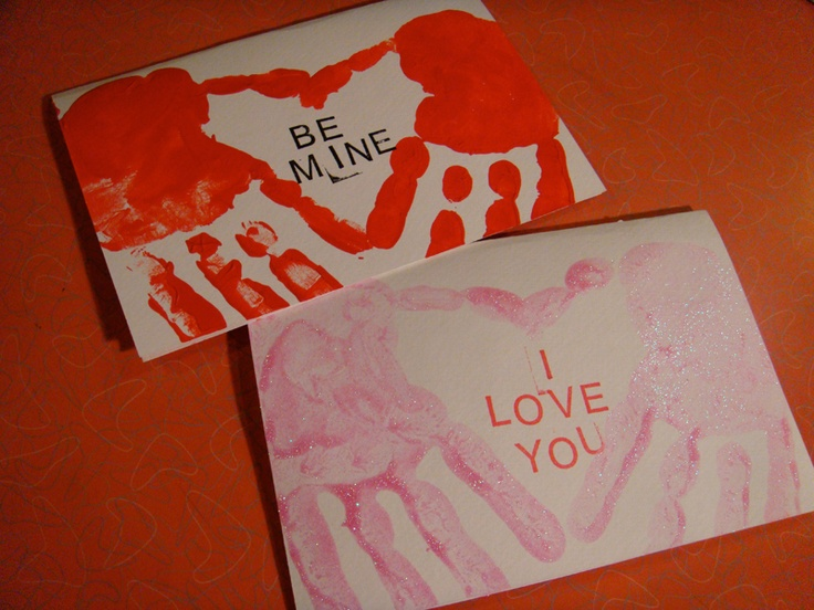 An easy and inexpensive hand-made card you can try with the kids this Valentine's Day! #ValentinesDay #ideas #gifts