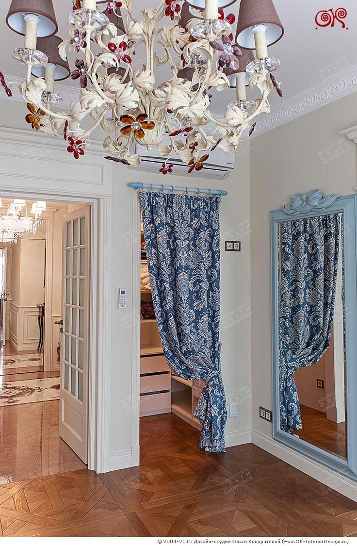Дизайн гардероба в детской комнате  http://www.ok-interiordesign.ru/ph35_design-kvartir.php