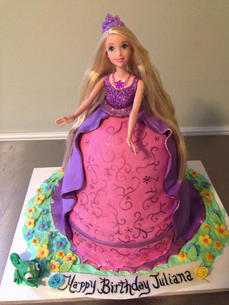 Princess Doll Cake Images : Tangled princess doll cake www.Cakeschartier.com. My ...