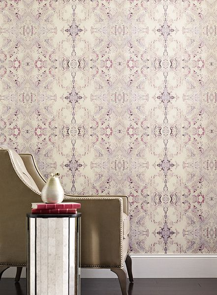 Sometimes words are inadequate to describe the peerless beauty of an art work. This unprecedented wallcovering falls into that category. The fascinating design
