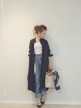 田中亜希子さんの(PAR ICI|パーリッシィ)を使ったコーディネート