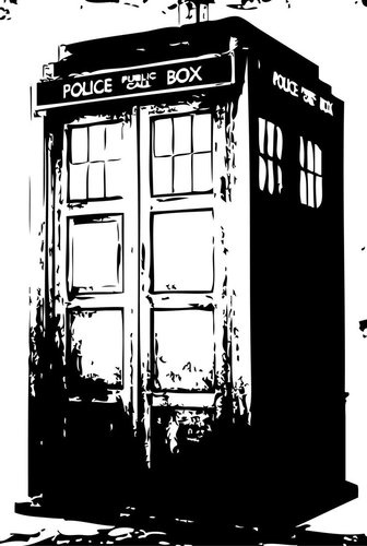Day 7: Geektastic Gifts! // Dr Who - Tardis Print, starting at $6.