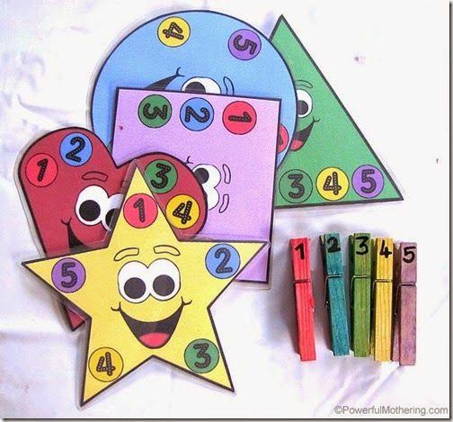 color activities for preschoolers - Pictures For Preschool