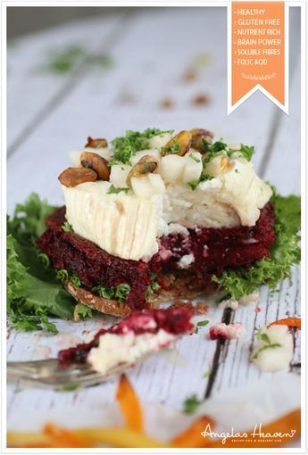 Heavenly Delicious Beetroot Burger #health #vegan #vegetarian #recipes #glutenfree #healthyrecipes #lactosefree #fitness #lunch #healthylunch #dinner #raw #rawfood