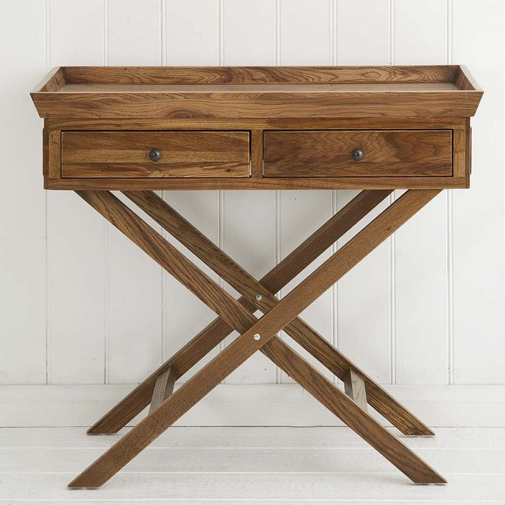 Natural Oak Butlers Table