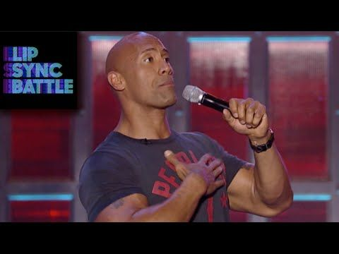▶ Jimmy Fallon's Like A Prayer vs Dwayne Johnson's Staying Alive | Lip Sync Battle - YouTube