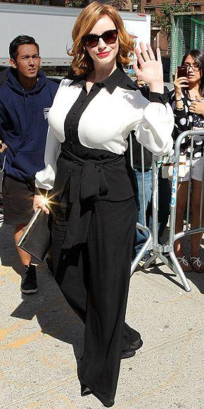 CHRISTINA HENDRICKS photo | Christina Hendricks in black and white #curvy #plussize