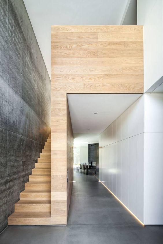 Cool design!  | Stairway designs | architecture | interior design | modern | #stairway #interiordesign https://www.statements2000.com/