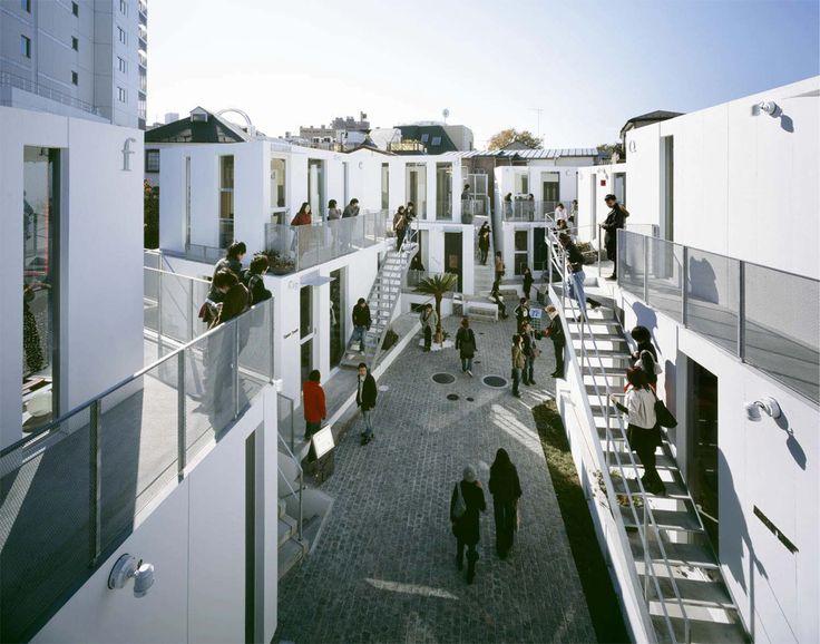 Sarugaku, a commercial district/village in Tokyo, designed by Akihisa Hirata #architecture
