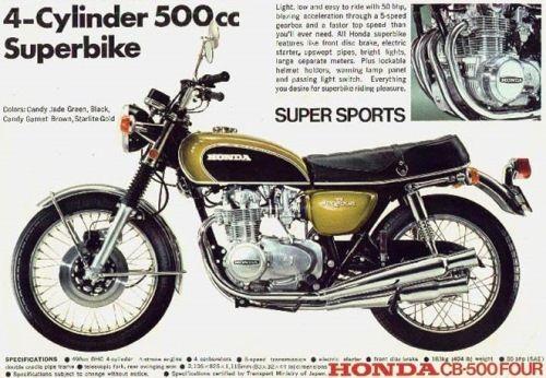 1971 CB500 Four