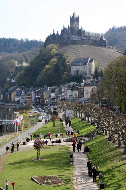 Cochem, Rhineland-Palatinate, Germany (by Jim Skreech)