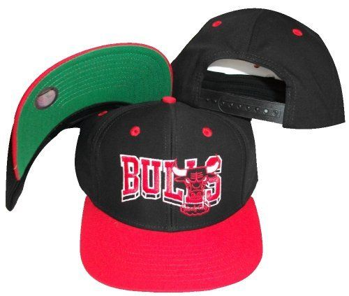 Chicago Bulls Wave Black/Red Two Tone Snapback Adjustab by adidas. $17.96. Embroidered team graphics. One Size Fits All. NBA Chicago Bulls Black Red 2 Tone Snapback Retro Cap - Name & Logo. By Adidas . From the Vintage ADIDAS NBA Collection. . Size is a One Size Snap Back. . Retro Old School men's Original Chicago Bulls 2Tone custom Snapback cap. . Custom 2 Tone color cap - Black cap with Red Visor. . Green Under Visor . Original Adidas Vintage Authentic Snapback Cap for Chicago ...
