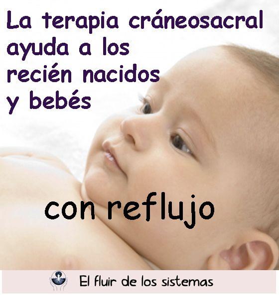 La terapia cráneosacral ayuda a los recién nacidos y bebés con reflujo