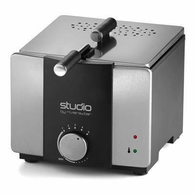 Friteuse - Double fonction : Friteuse et Fondue - Puissance : 900 W - Capacité : 1,2 litre - Capacité maximale de frites : 500 g - Panier avec poignée amovible