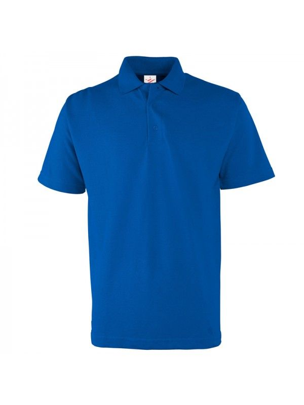 Plain Polo Shirts X 7 each in a different colour for work