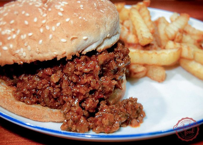 comfortable food - super delicious sloppy joes