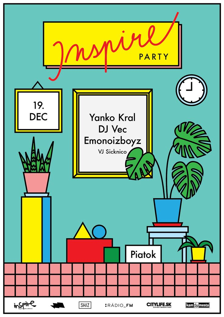 *Inspire Party* Posters on Behance