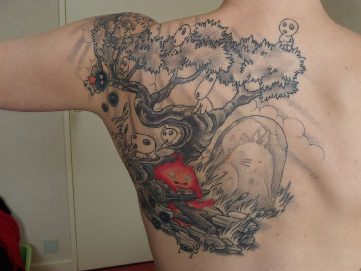 tattoo miyazaki by kr0mat1k on deviantart tattoos studio ghibli inspired pinterest. Black Bedroom Furniture Sets. Home Design Ideas