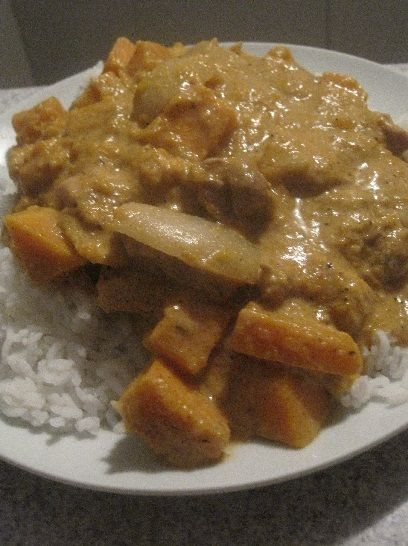 A very tasty and simple Thai curry that I have often prepared for dinner parties.
