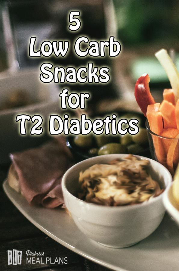 5 Low Carb Snacks for T2 Diabetics