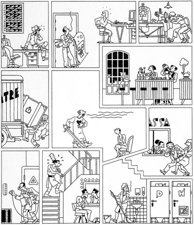 Joost Swarte - Toneelshuur Section: Perhaps the only built building designed by a cartoonist.