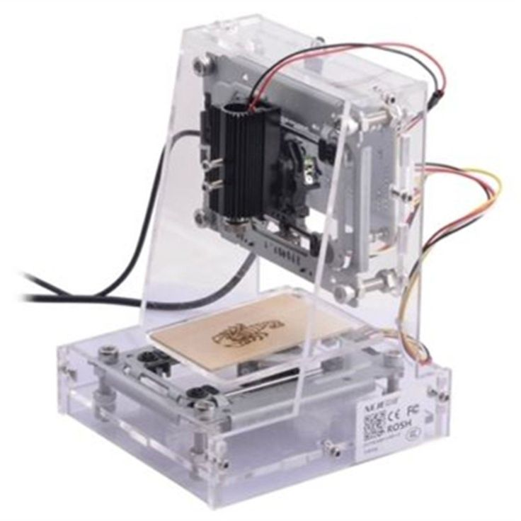 300mw USB DIY Laser Engraver Cutter Engraving Cutting Machine Laser Printer CNC Printer Transparent -- Details can be found by clicking on the image.