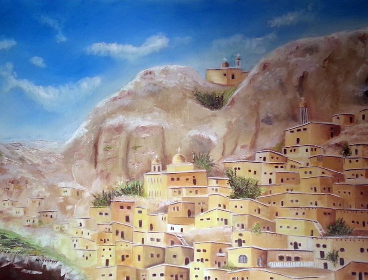 Ancient City of Maloula - Syria - Nasri Georges Art