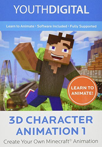 3D Character Animation 1 – Kids Ages 8-14 Learn to Create Their Very 3D Minecraft ® Animated Movie (PC Online Game Code)) [Online Code] | MyPointSaver