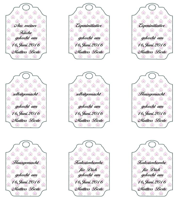 15 must see etiketten f r marmelade pins lebensmittel etiketten getr nke etiketten and. Black Bedroom Furniture Sets. Home Design Ideas