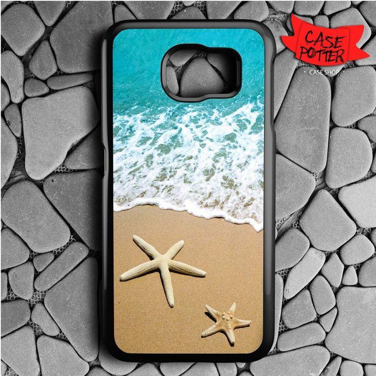 Beach Samsung Galaxy S7 Black Case