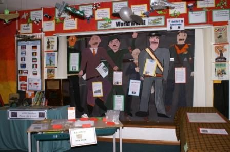 World War 2 display with lots of extras.