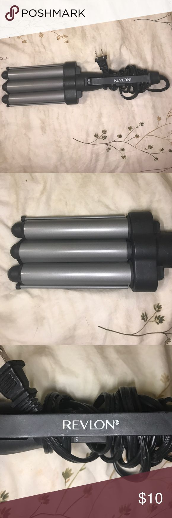 REVLON hair crimper Excellent condition. Like new. Used once. Price is firm. Revlon Accessories Hair Accessories