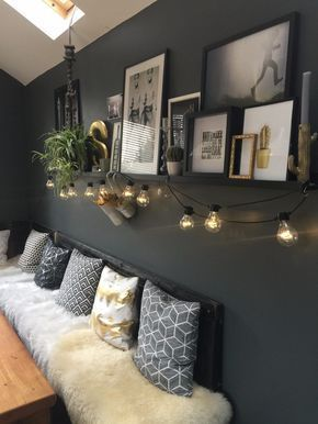 Ein dunkles und melancholisches Zuhause in England – Wohnung