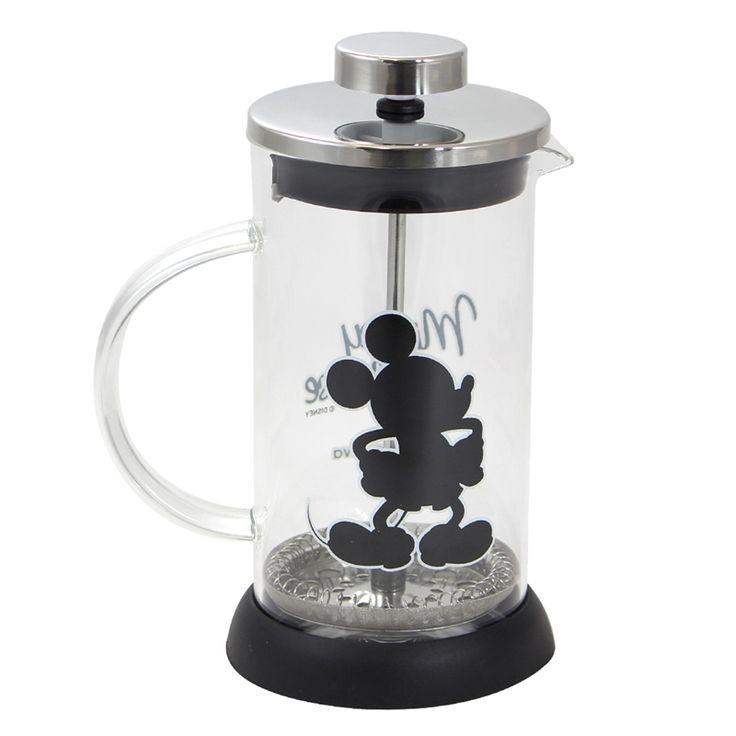 Mickey Mouse - Cafeteira Francesa - Azzurium Decorações e Presentes Criativos