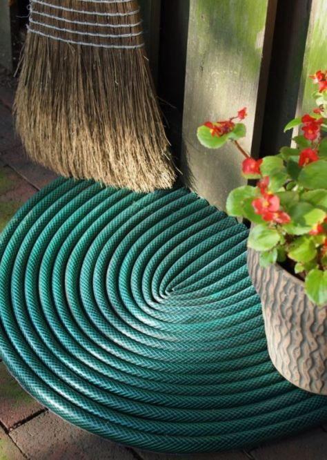 Garden Hose Mat