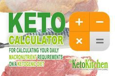 Free Keto Calculator For Working Out your Macros