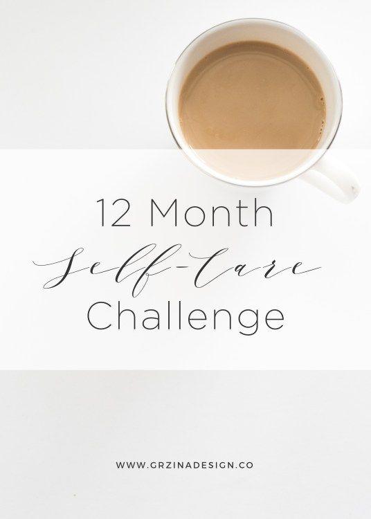 12 Month Self-Care Challenge