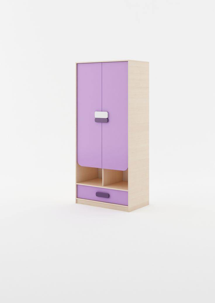 szafa z kolekcji GUSTO #wardrobe #szafadladziecka #dignet #dignetlenart #meble #meblemlodziezowe #mebledladzieci #mebledzieciece #meble #szafadziecieca #nastolatki #furnitureforchildren #youthfurniture #youthroom #gusto