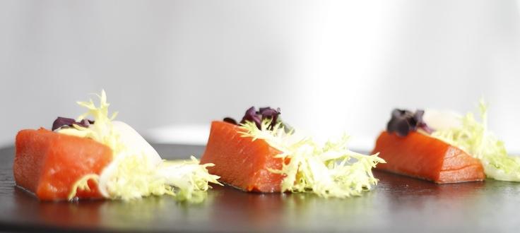 Salmon sashimi  www.palacehotel.nl