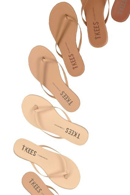 Tkee Flip-Flops: The elegant, sophisticated flip-flop is kind of an oxymoron, but the Tkee sandal, which comes in a range of nude hues, is one of the few examples we can think of. This flip-flop is inspired by the idea of a sandal that is so minimal it basically disappears, with its success dependent on how closely it matches your feet (which is very closely). #refinery29 http://www.refinery29.com/nude-fashion-beauty-brands#slide-5