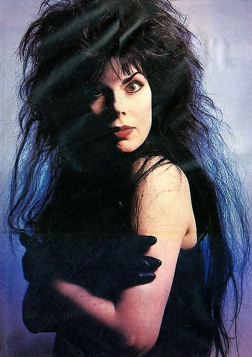 Patricia Morrison of the sisters of Mercy, the Damned and the Gun Club.